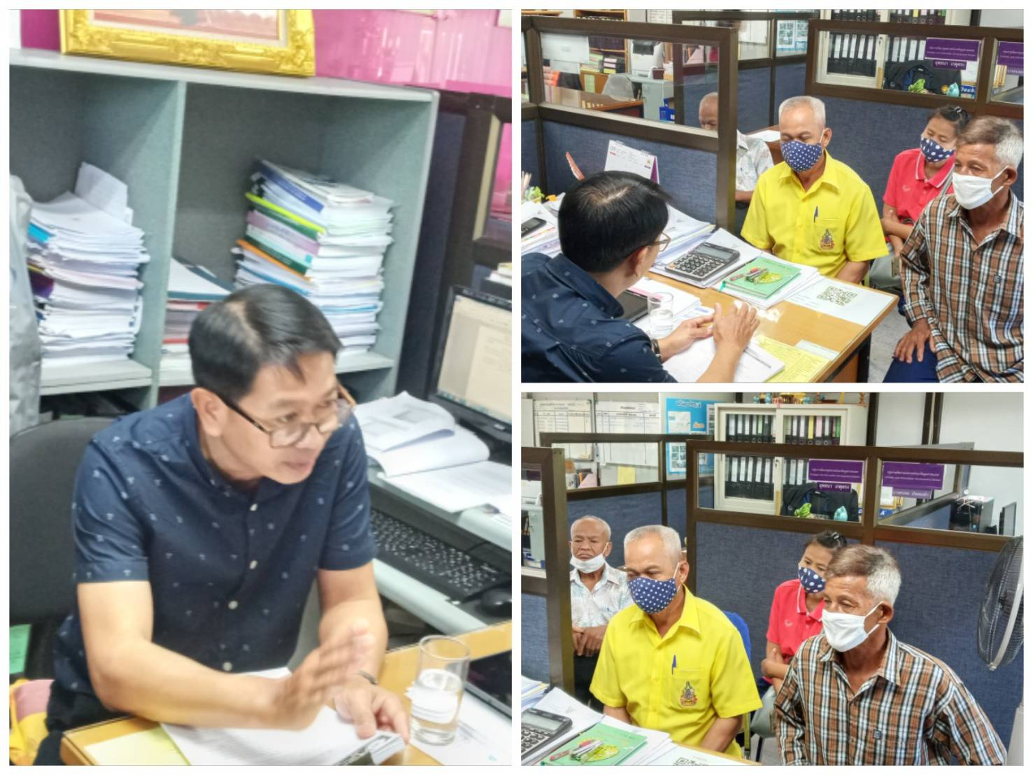 สรจ.พิษณุโลก ให้คำปรึกษาและแนะนำ เพื่อติดตามสิทธิประโยชน์แก่คนงานไทยที่เคยไปทำงานในประเทศของจังหวัดพิษณุโลก